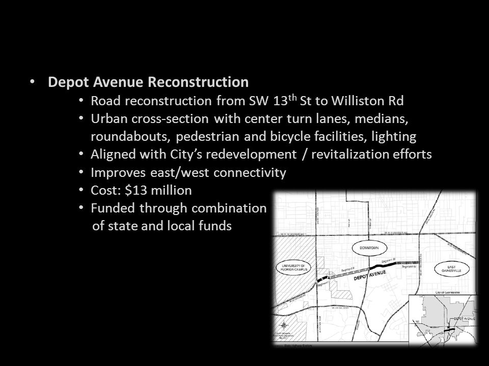 Depot Avenue Reconstruction