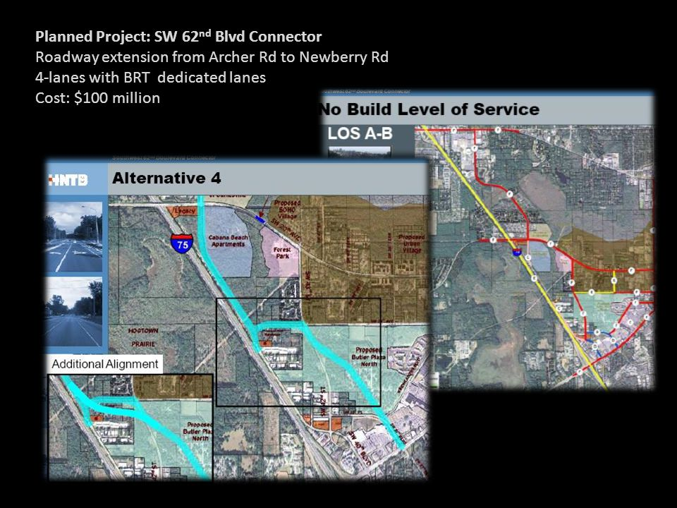 Planned Project: SW 62nd Blvd Connector