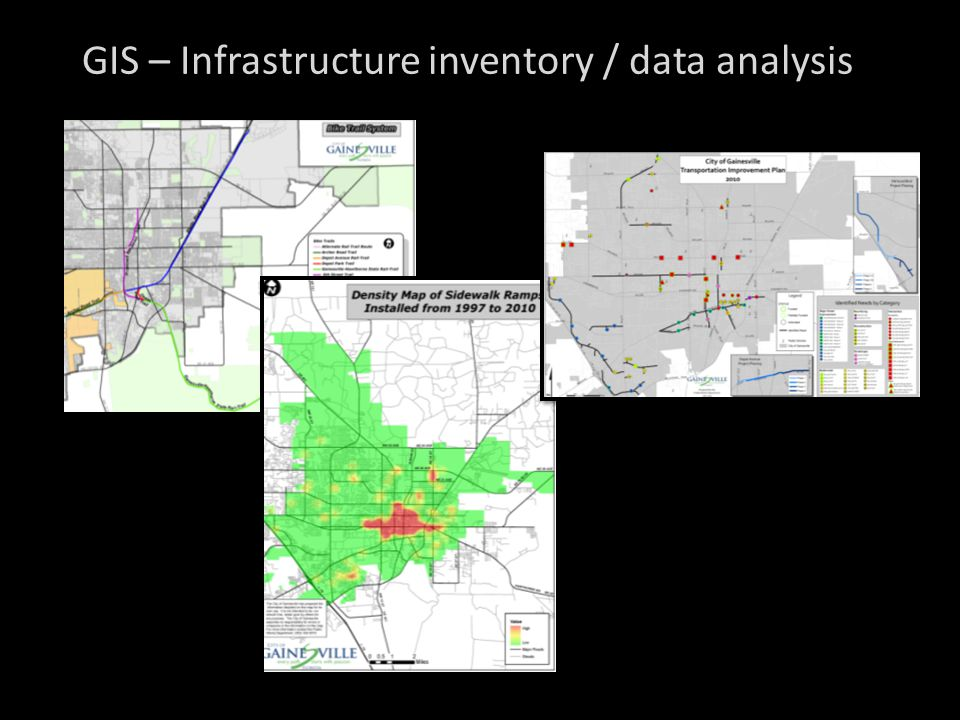 GIS – Infrastructure inventory / data analysis