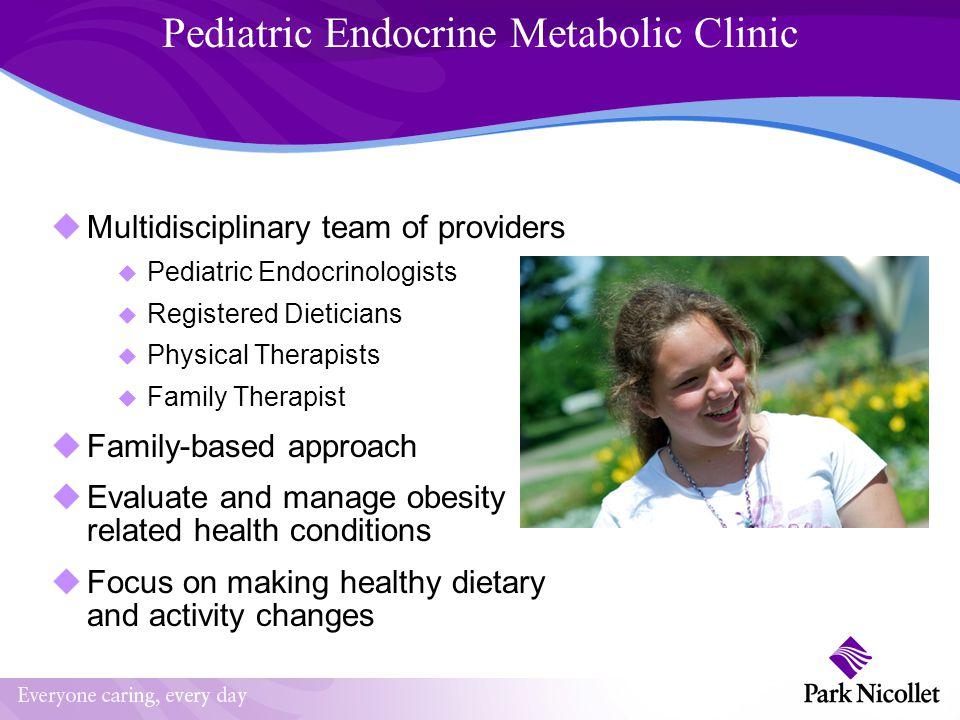 Pediatric Endocrine Metabolic Clinic