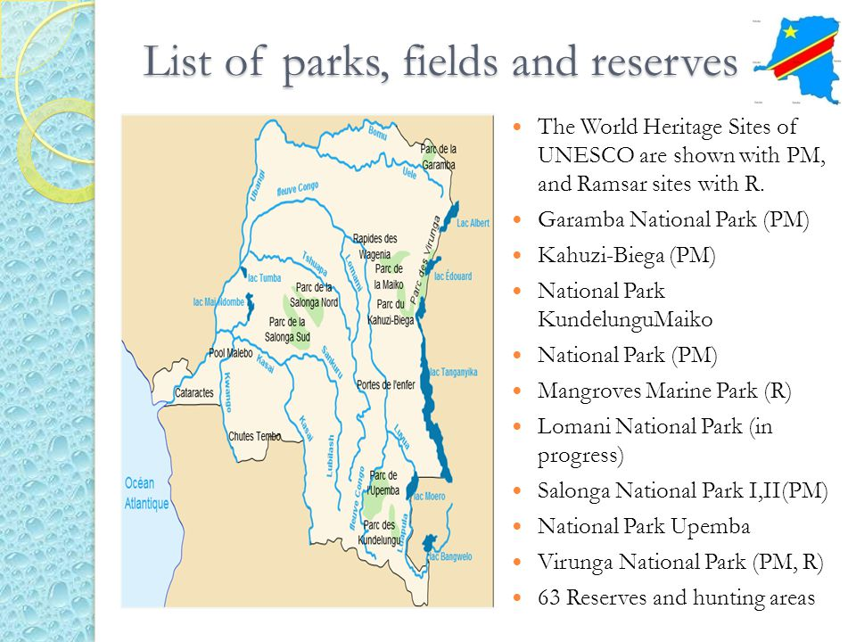 List of parks, fields and reserves