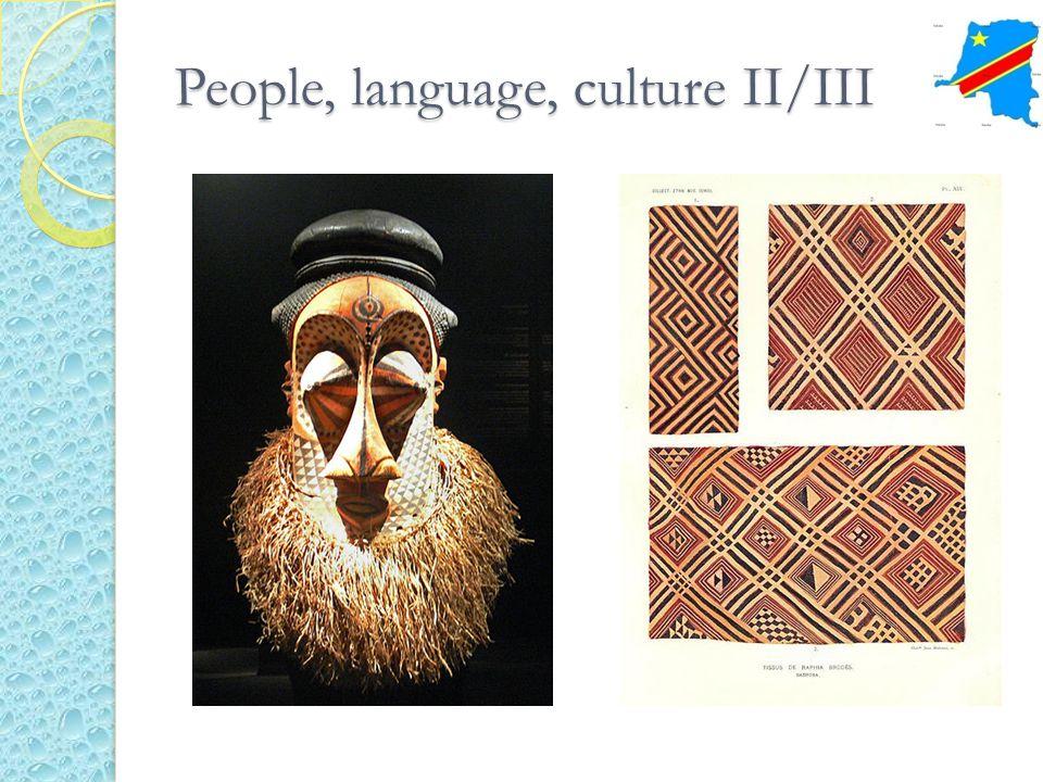 People, language, culture II/III