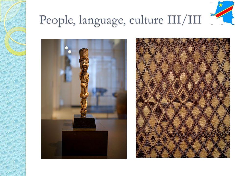 People, language, culture III/III