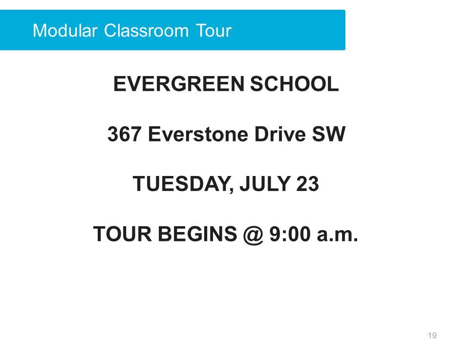 Modular Classroom Tour