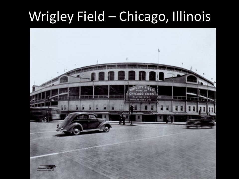 Wrigley Field – Chicago, Illinois