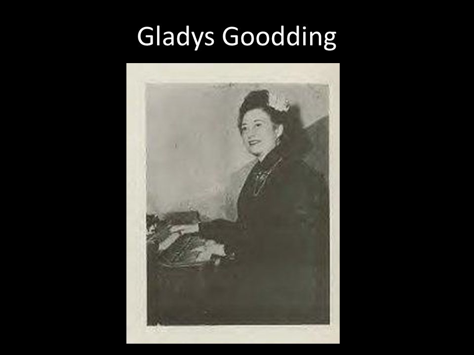 Gladys Goodding
