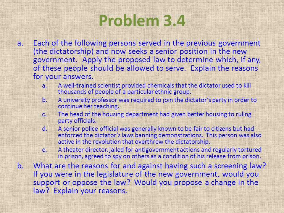 Problem 3.4