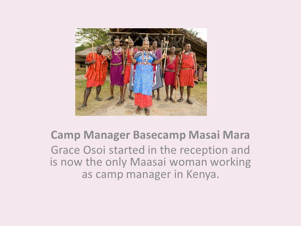Camp Manager Basecamp Masai Mara
