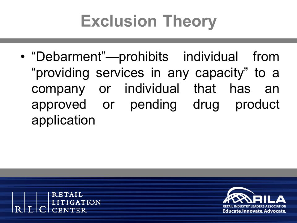 Exclusion Theory
