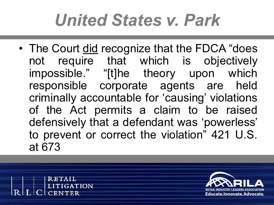 United States v. Park