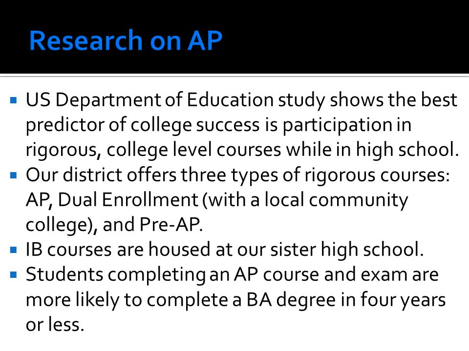 Research on AP