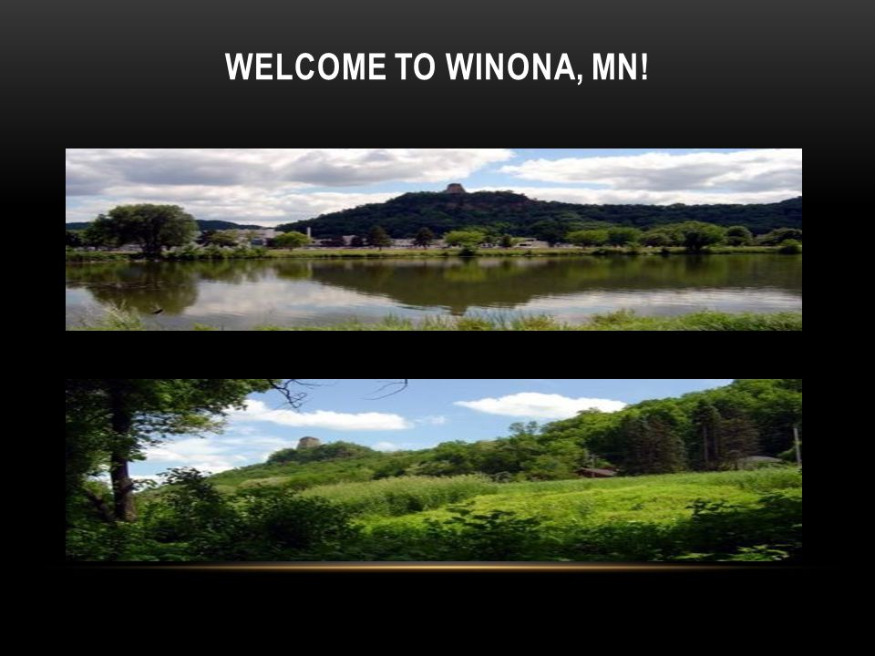 Welcome to Winona, MN!