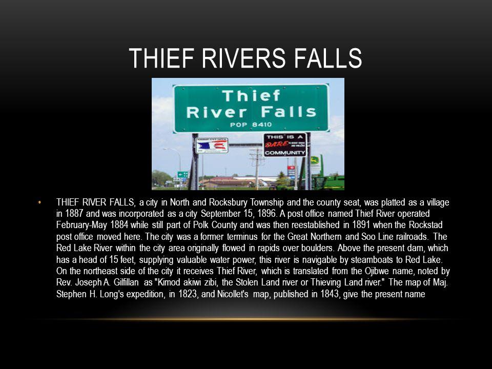 Thief Rivers Falls