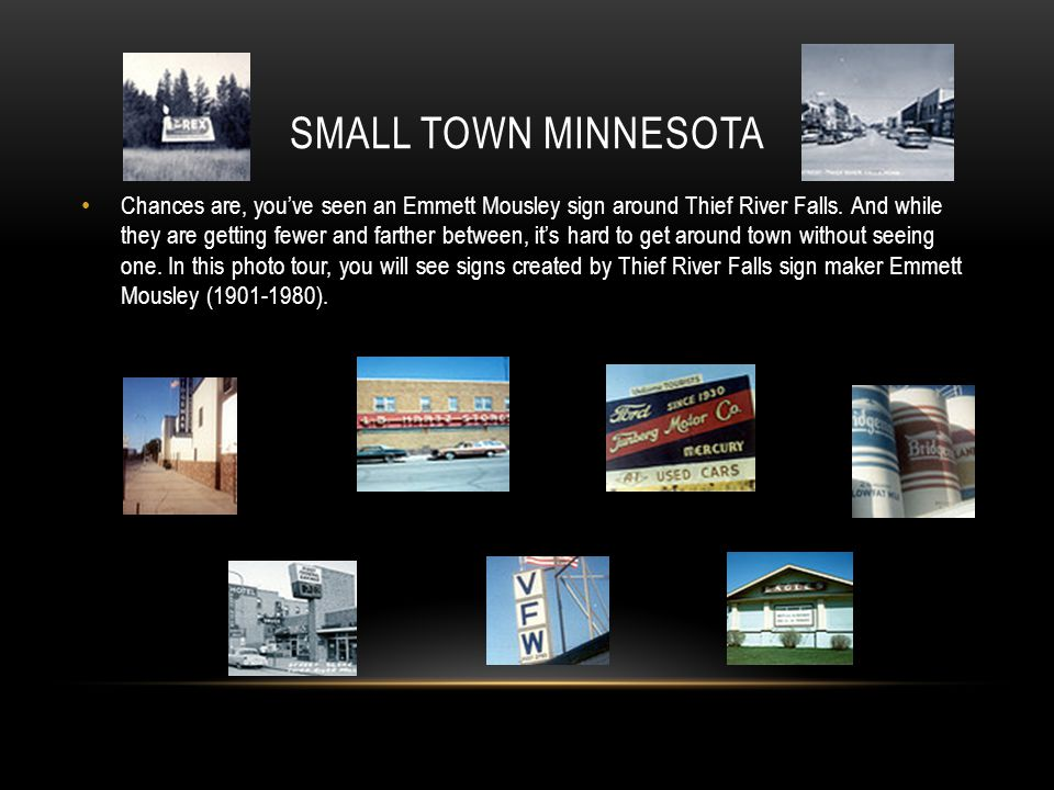 Small Town Minnesota