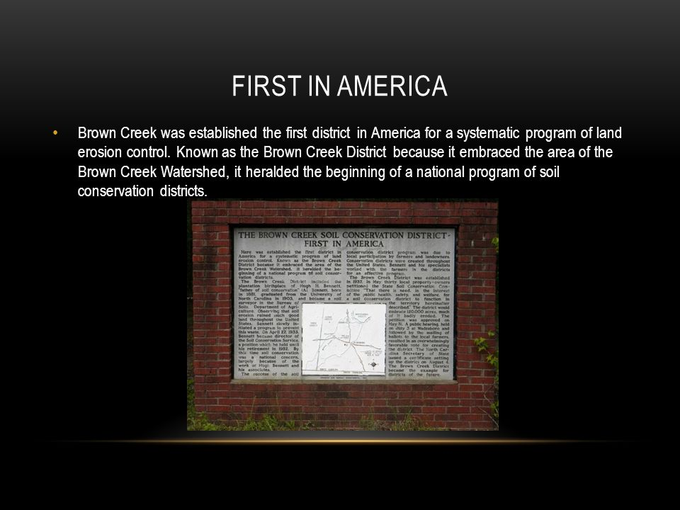 First in America