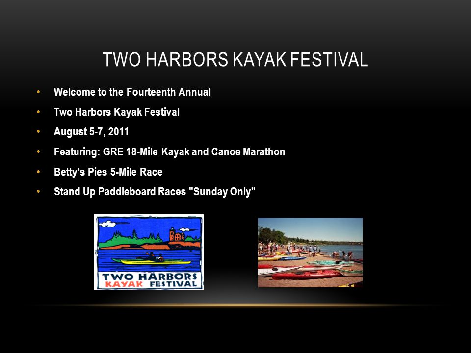 Two Harbors Kayak Festival