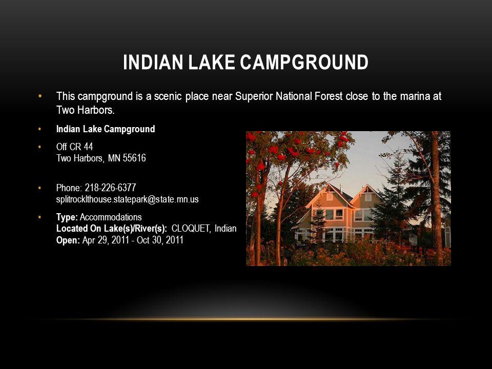 Indian Lake Campground