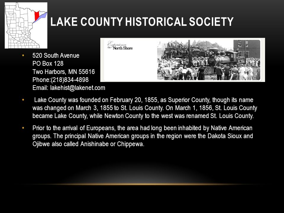 Lake County Historical Society