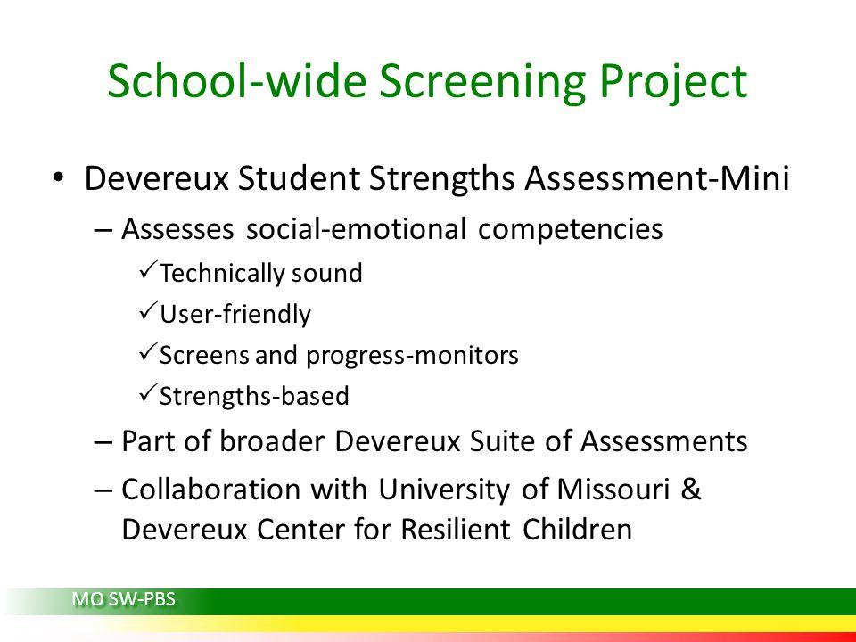 School-wide Screening Project