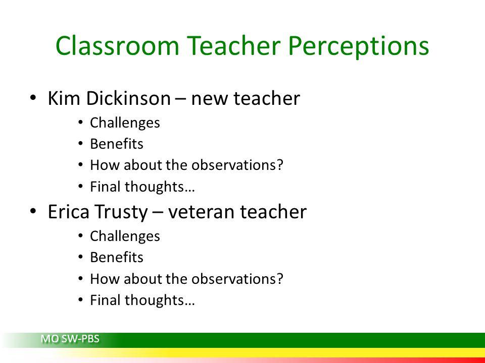 Classroom Teacher Perceptions