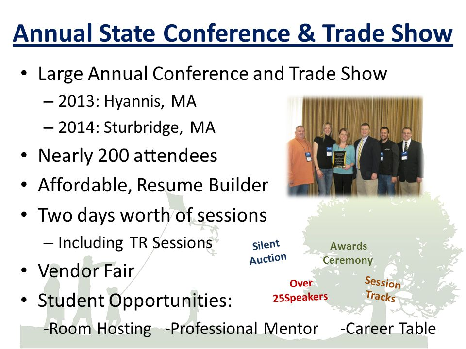 Annual State Conference & Trade Show