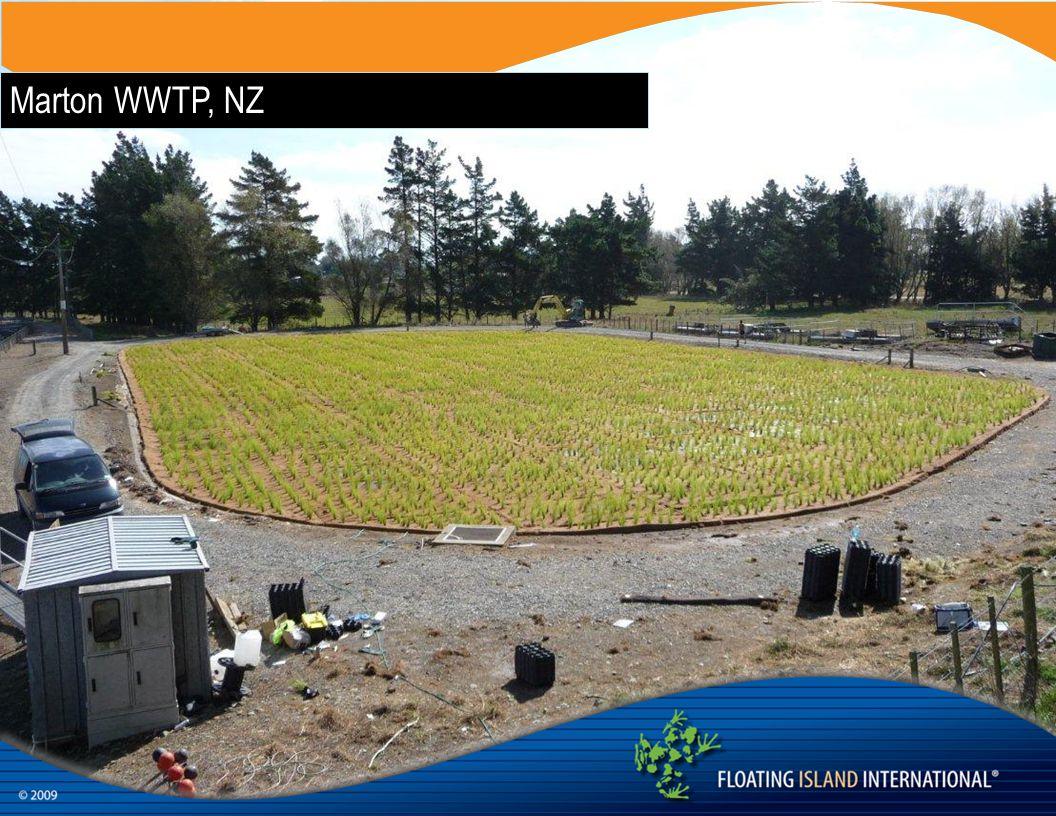 Marton WWTP, NZ