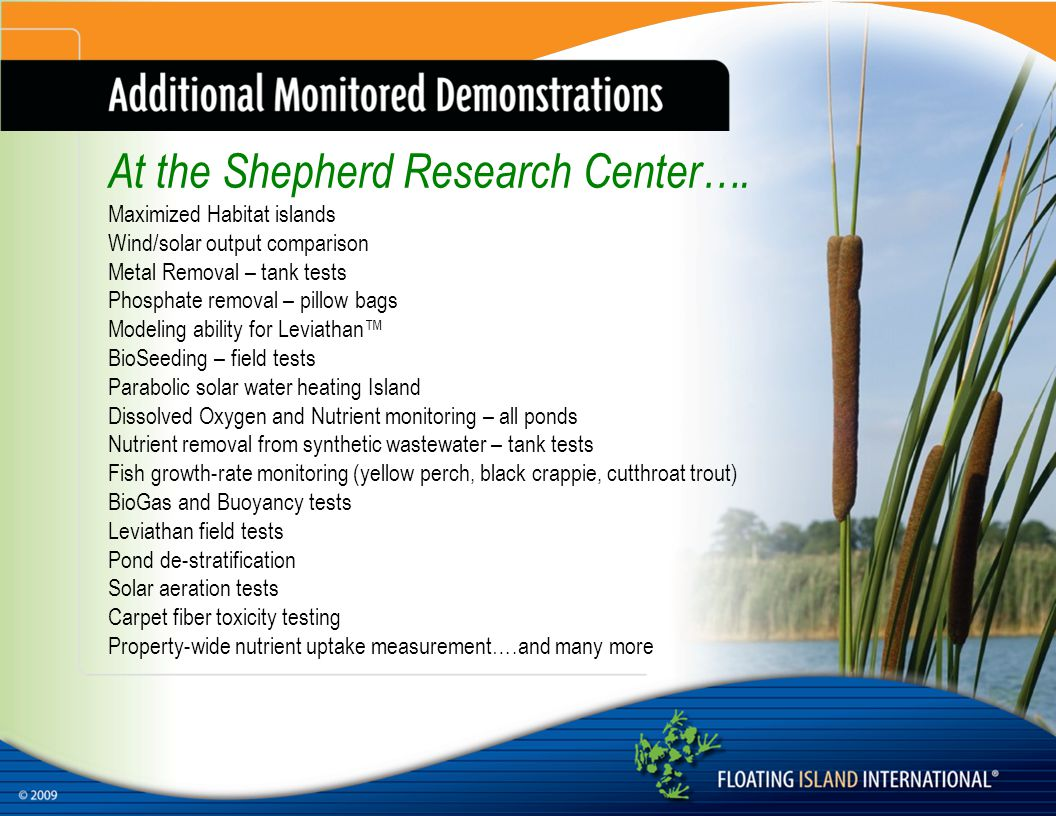 At the Shepherd Research Center….