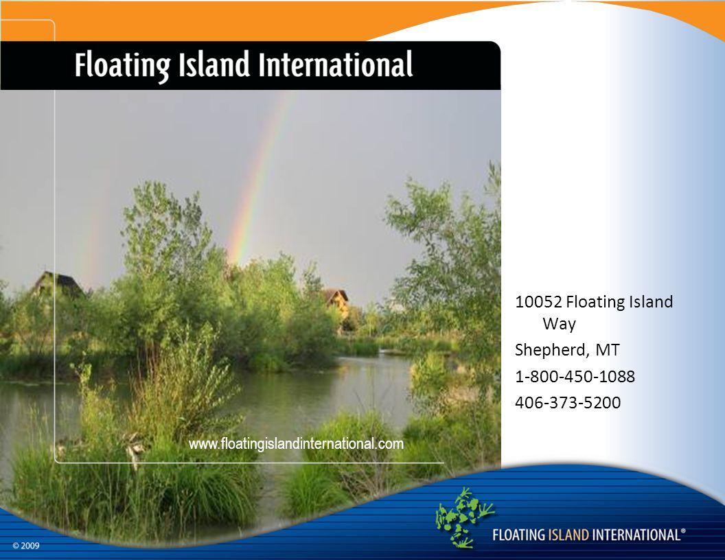 10052 Floating Island Way Shepherd, MT 1-800-450-1088 406-373-5200