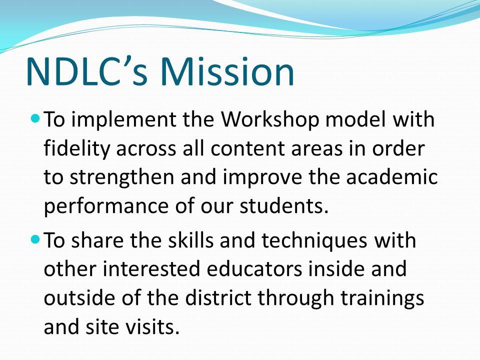NDLC's Mission