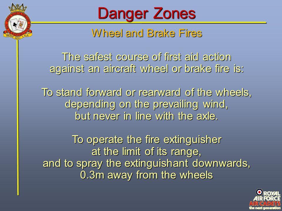 Danger Zones Wheel and Brake Fires