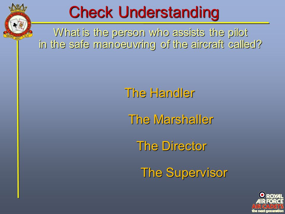 Check Understanding The Handler The Marshaller The Director