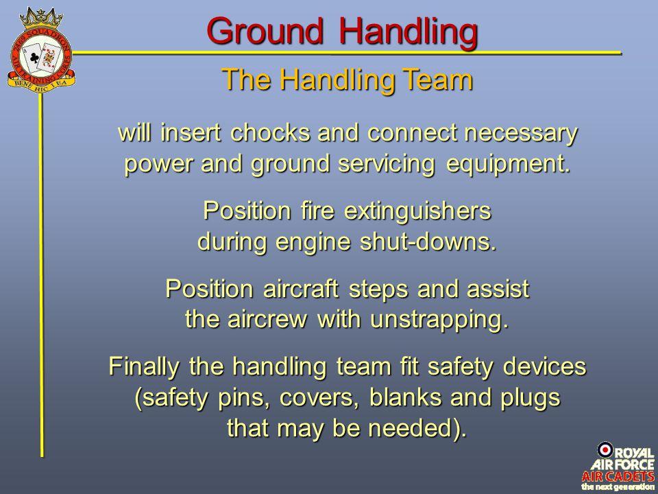 Ground Handling The Handling Team