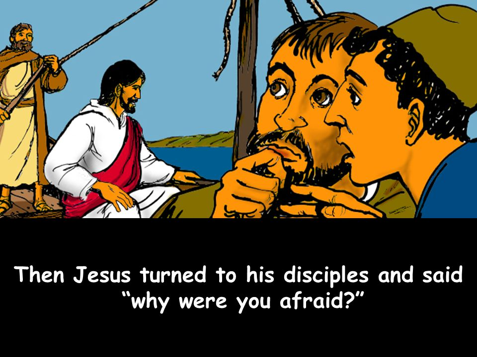 Then Jesus turned to his disciples and said