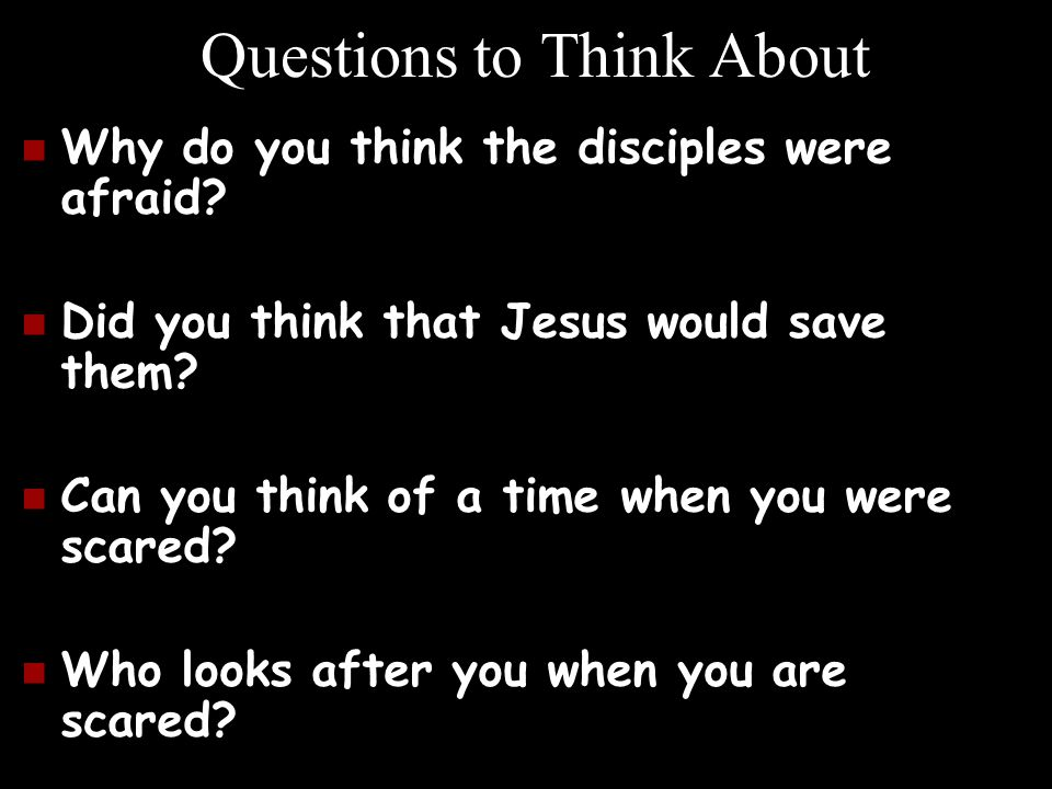 Questions to Think About