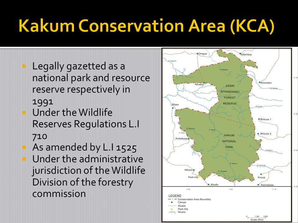 Kakum Conservation Area (KCA)