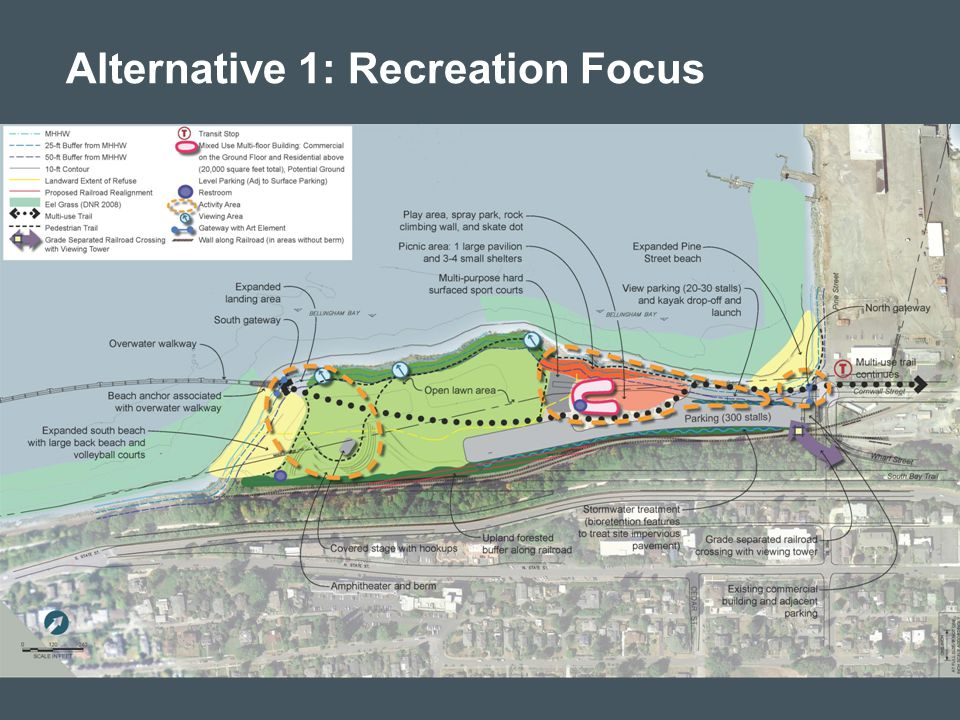 Alternative 1: Recreation Focus