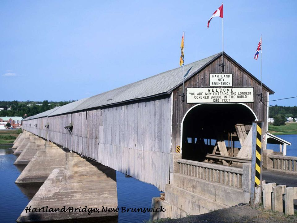 Hartland Bridge, New Brunswick