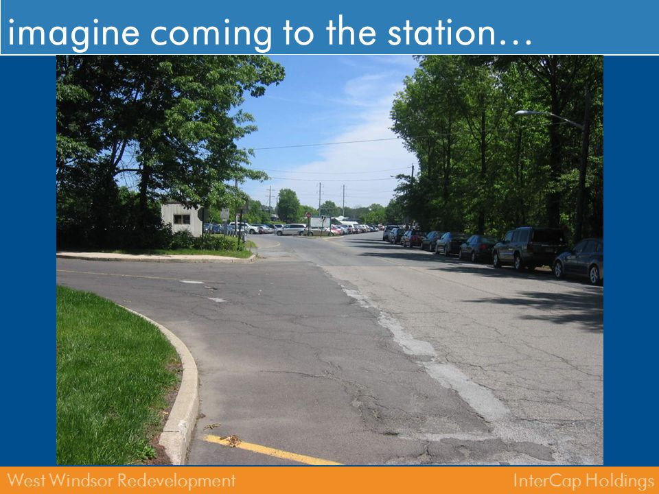 imagine coming to the station…