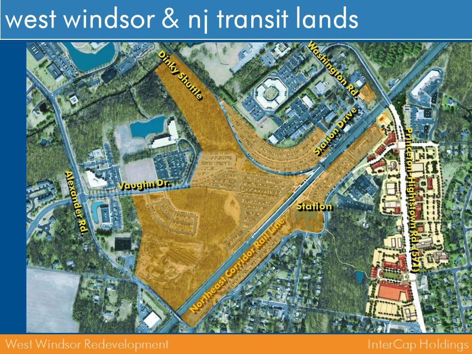west windsor & nj transit lands