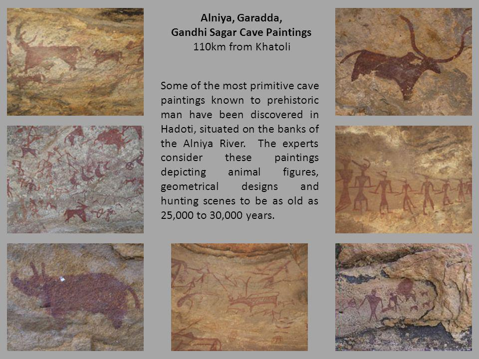 Gandhi Sagar Cave Paintings