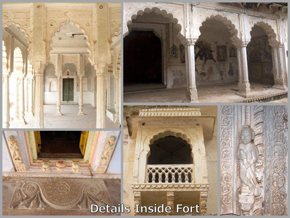 Details Inside Fort