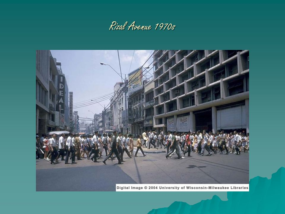 Rizal Avenue 1970s
