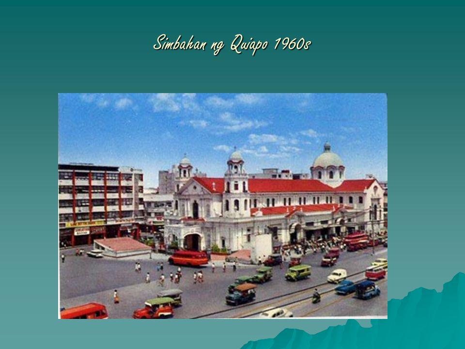 Simbahan ng Quiapo 1960s