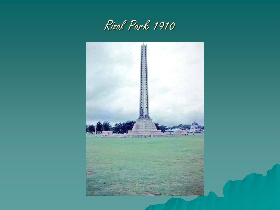 Rizal Park 1910