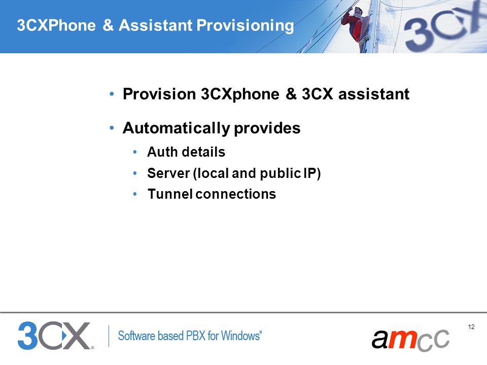 3CXPhone & Assistant Provisioning