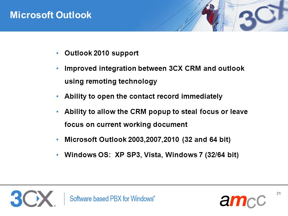 Microsoft Outlook Outlook 2010 support