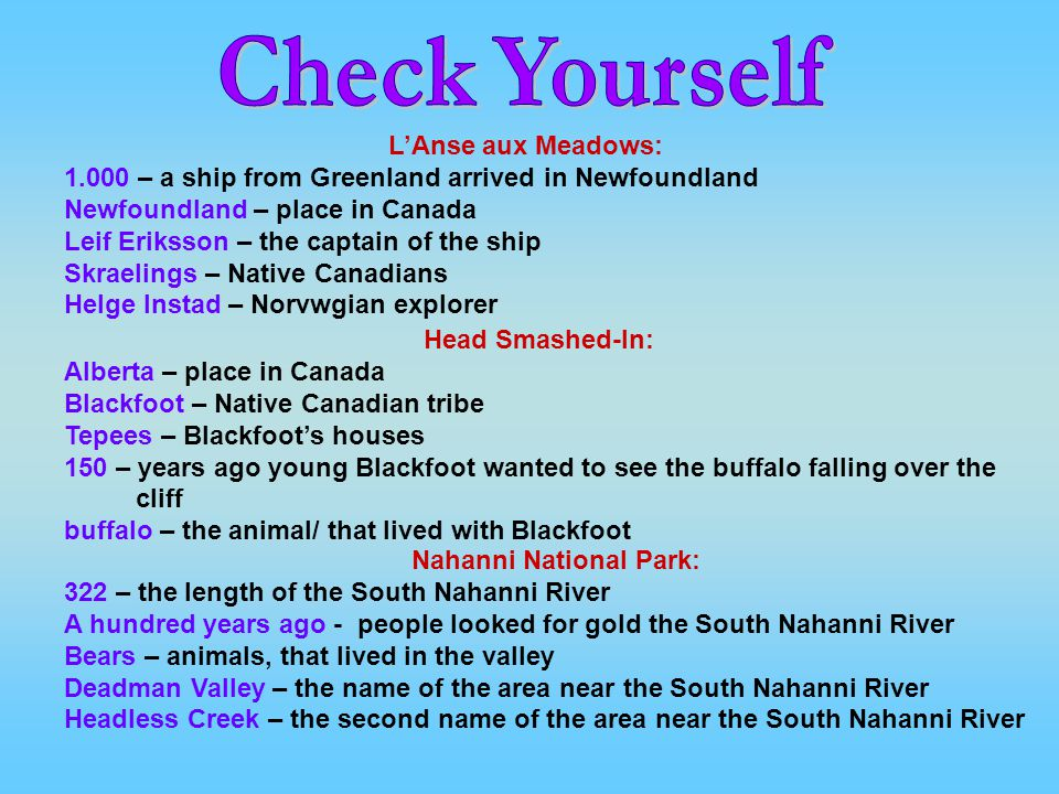 Nahanni National Park: