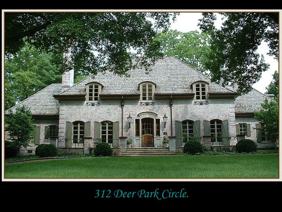 312 Deer Park Circle.