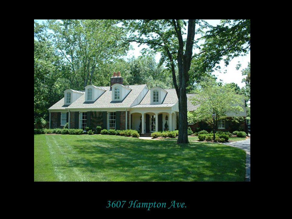 3607 Hampton Ave.