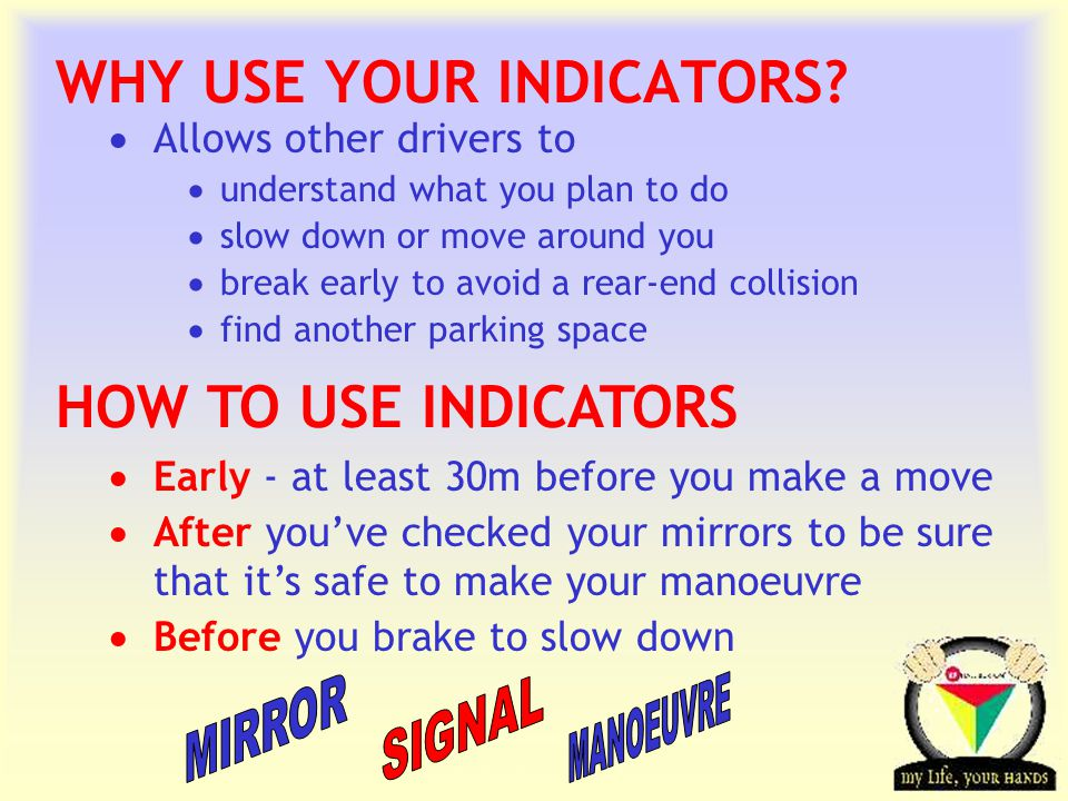 WHY USE YOUR INDICATORS